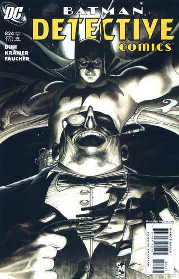 Couverture de Detective Comics (1937) -824- Night of the Penguin
