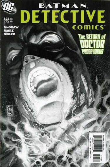 Couverture de Detective Comics (1937) -825- The return of Dr. Phosphorus !