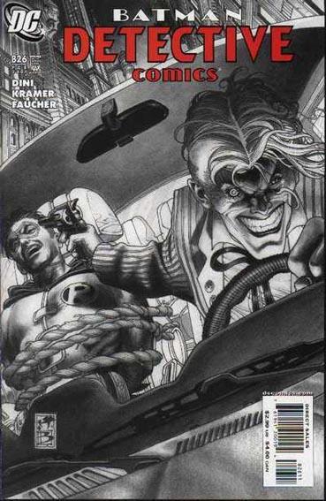 Couverture de Detective Comics (1937) -826- Slayride