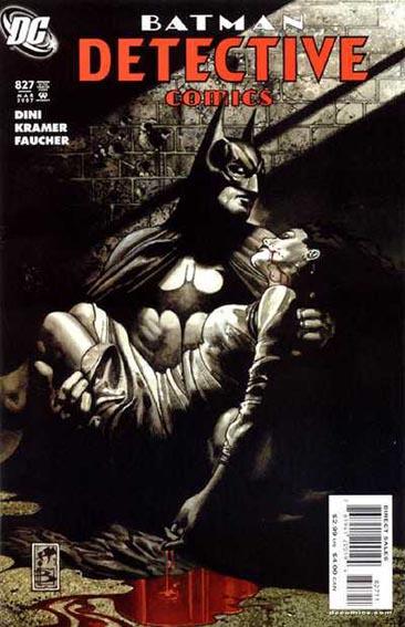Couverture de Detective Comics (1937) -827-