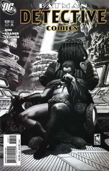 Couverture de Detective Comics (1937) -828- Sharkbite
