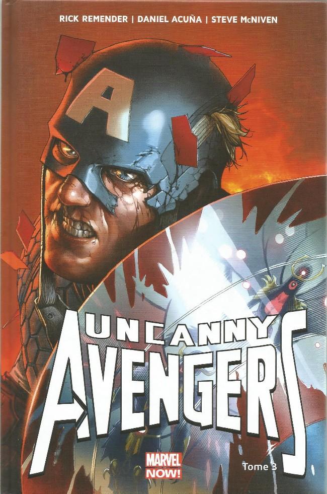 Couverture de Uncanny Avengers (Marvel Now!) -3- Ragnarok Now (II)
