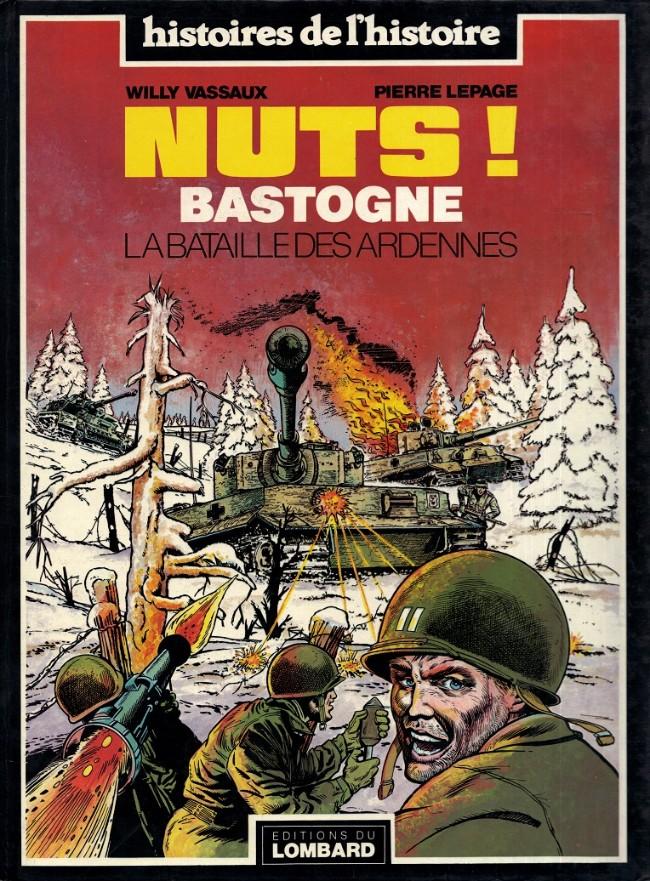Couverture de La bataille des Ardennes - Nuts! -1- Nuts! Bastogne La Bataille des Ardennes
