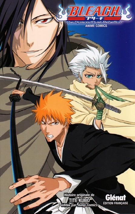Couverture de Bleach -HS7- The DiamondDust Rebellion - Anime Comics