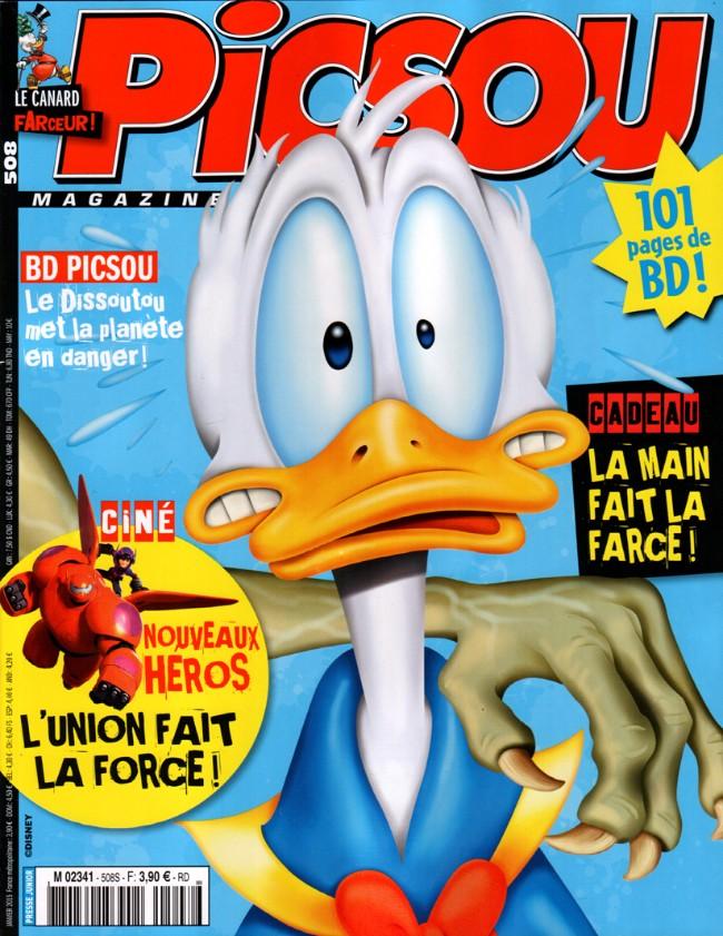 Couverture de Picsou Magazine -508- Picsou Magazine n° 508