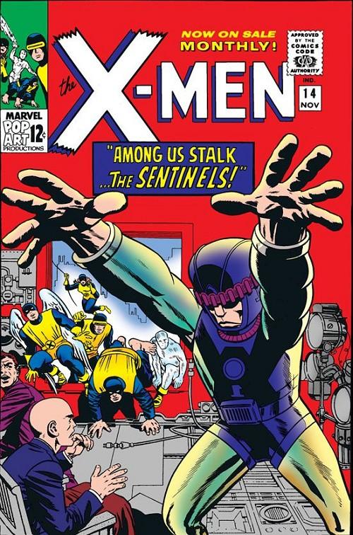Couverture de Uncanny X-Men (The) (Marvel comics - 1963) -14- Among us stalk... the sentinels!