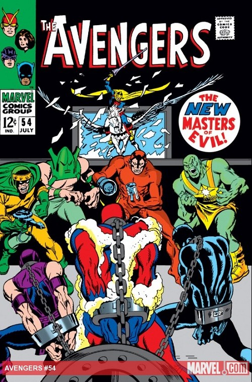 Couverture de Avengers (The) (1963) -54- The new master of evil