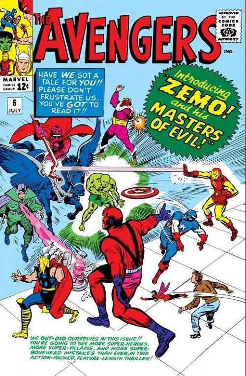 Couverture de Avengers (The) (1963) -6- Master of evil