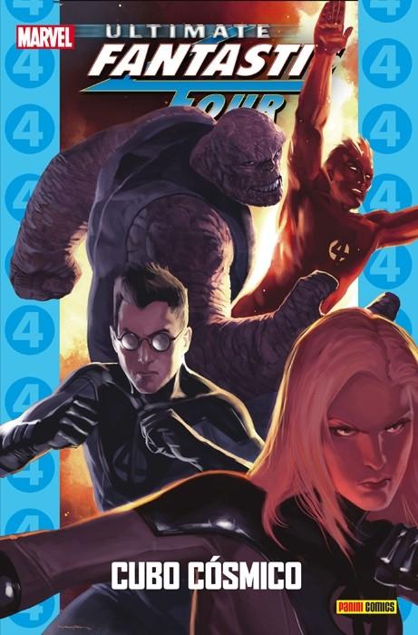 Couverture de Ultimate - Coleccionable Ultimate -76- Ultimate Fantastic Four 9: Cubo Cósmico