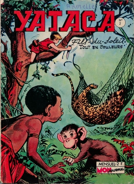 Couverture de Yataca (Fils-du-Soleil) -2- Les hommes dans la forêt