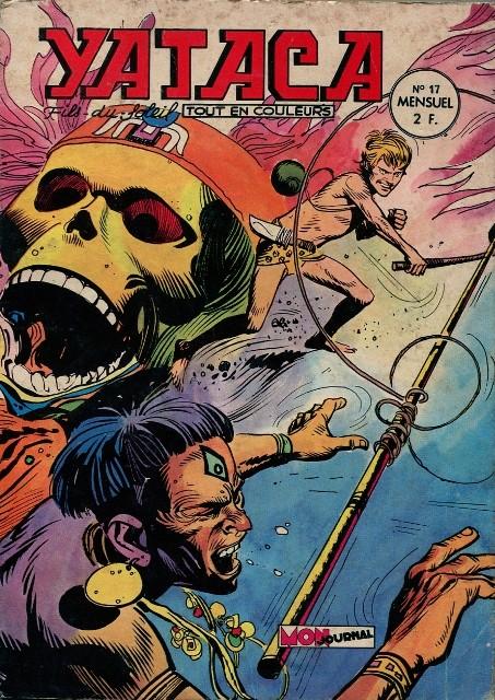 Couverture de Yataca (Fils-du-Soleil) -17- Le masque de la mort