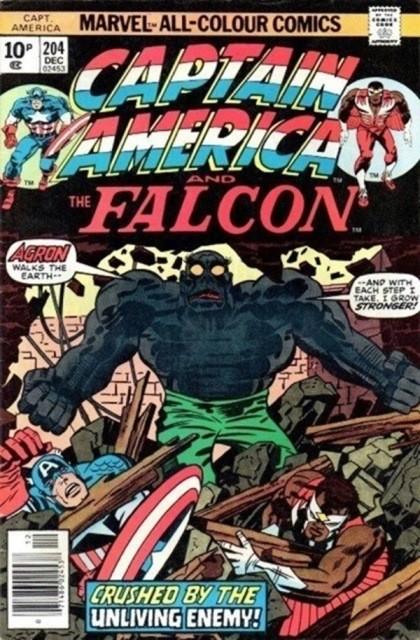 Couverture de Captain America (Marvel comics - 1968) -204- The unburied one!