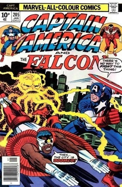 Couverture de Captain America (Marvel comics - 1968) -205- Agron Walks the Earth!