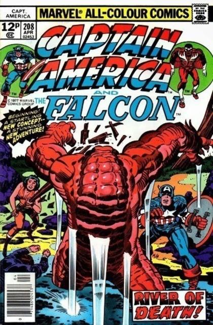 Couverture de Captain America (Marvel comics - 1968) -208- The river of death