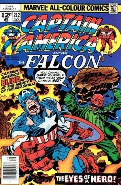 Couverture de Captain America (1968) -212- The face of a hero!