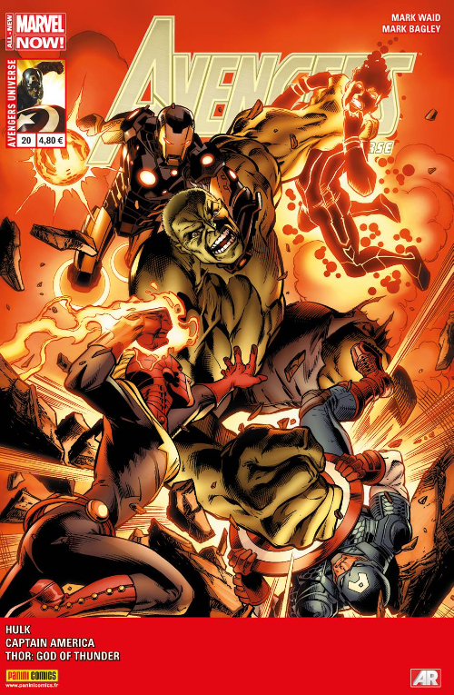 Couverture de Avengers Universe (1re série - 2013) -20- Le clou de fer