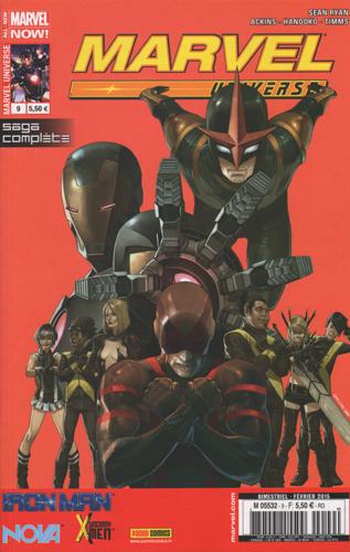 Couverture de Marvel Universe (Panini - 2013) -9- L'Eternelle chute