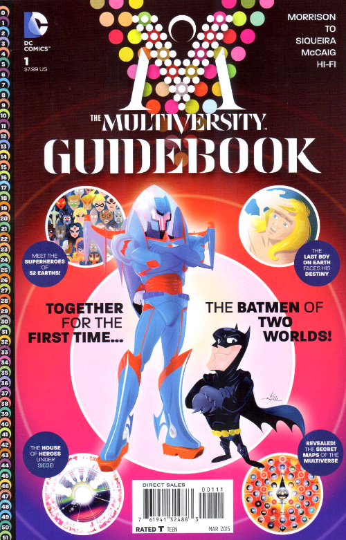 Couverture de The multiversity (2014) - The Multiversity Guidebook