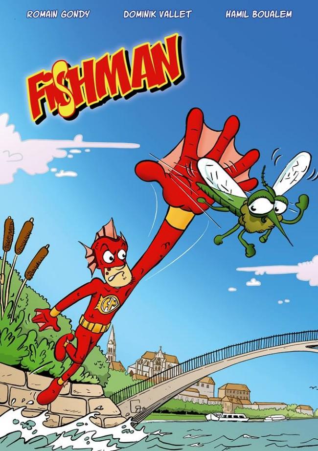 Couverture de Fishman - Tome 1