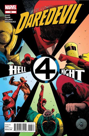 Couverture de Daredevil Vol. 3 (Marvel - 2011) -13- Untitled