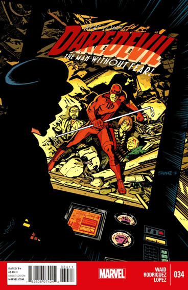 Couverture de Daredevil Vol. 3 (Marvel - 2011) -34- Untitled