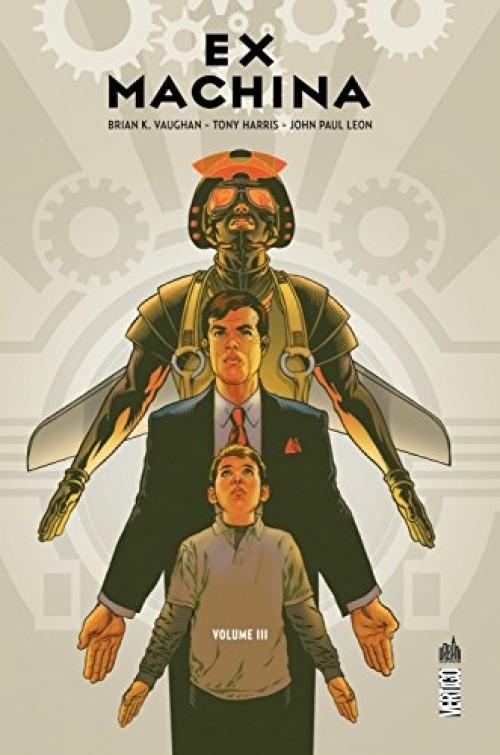 Couverture de Ex Machina (Urban Comics) -3- Volume III