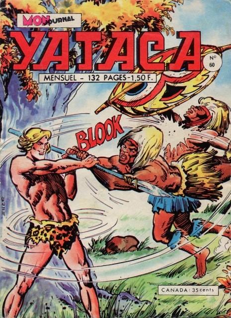 Couverture de Yataca (Fils-du-Soleil) -60- La vallée des pygmées