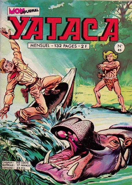 Couverture de Yataca (Fils-du-Soleil) -85- Danger de mort