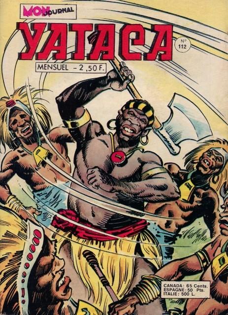Couverture de Yataca (Fils-du-Soleil) -112- La reine des Wando