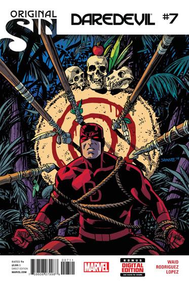 Couverture de Daredevil Vol. 4 (Marvel - 2014) -7- Original Sin