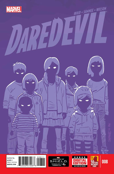 Couverture de Daredevil Vol. 4 (Marvel - 2014) -8- Untitled