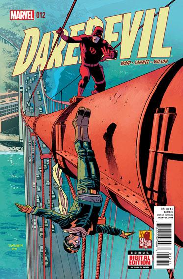 Couverture de Daredevil Vol. 4 (Marvel - 2014) -12- Untitled