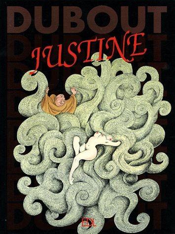 Couverture de (AUT) Dubout - Justine ou les malheurs de la vertu