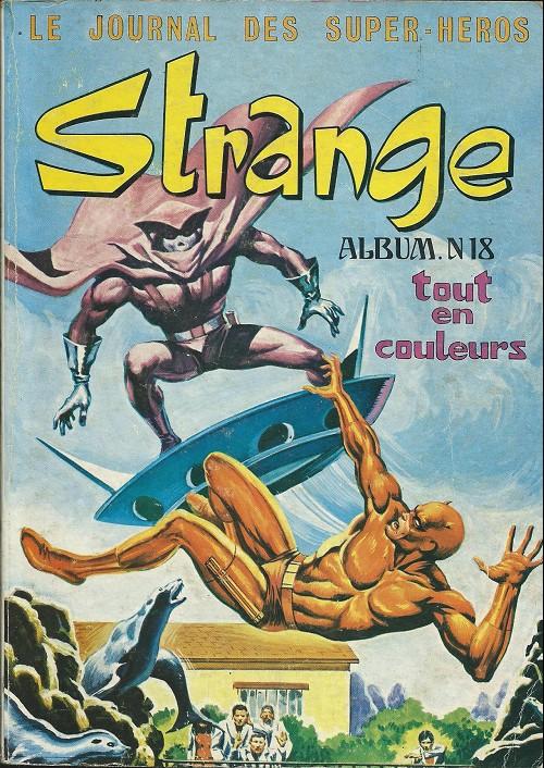Couverture de Strange -Rec018- Album N°18 (du n°53 au n°55)