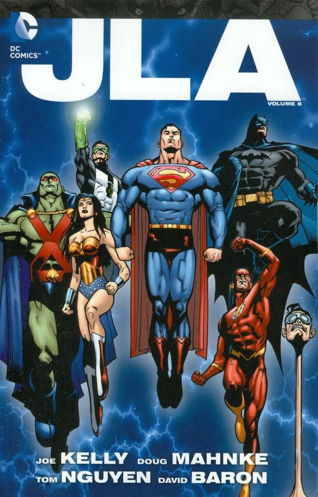 Couverture de JLA (1997) -INT-06- JLA: The Deluxe Edition volume 6