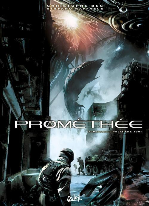 Couverture de Prométhée -11- Le Treizième Jour