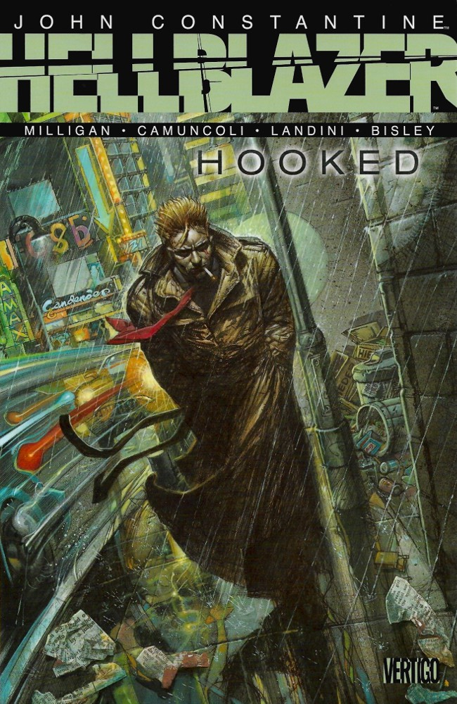 Couverture de Hellblazer (DC comics - 1988) -INT-31- Hooked