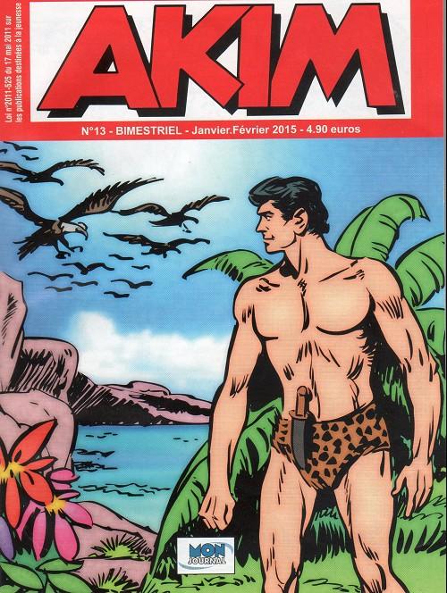 Couverture de Akim (3e série) -13- Le vautour - le mur invisible