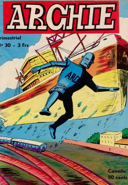 Couverture de Archie (Jeunesse et Vacances) -30- Bateau-vole !