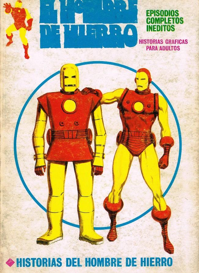 Couverture de Hombre de Hierro (El) (Iron Man) Vol. 1 -21- Historias del Hombre de Hierro