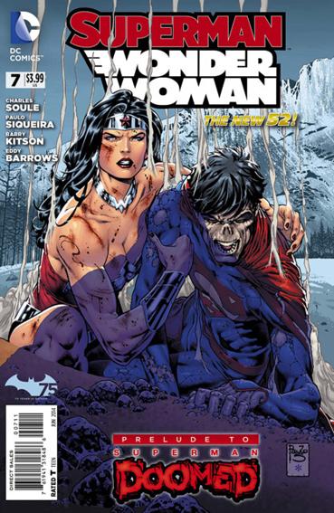 Couverture de Superman/Wonder Woman (2013) -7- Rise
