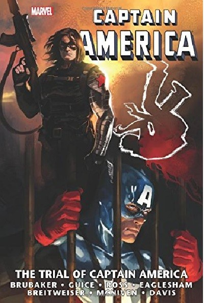 Couverture de Captain America (1968) -OMN04- The Trial of Captain America