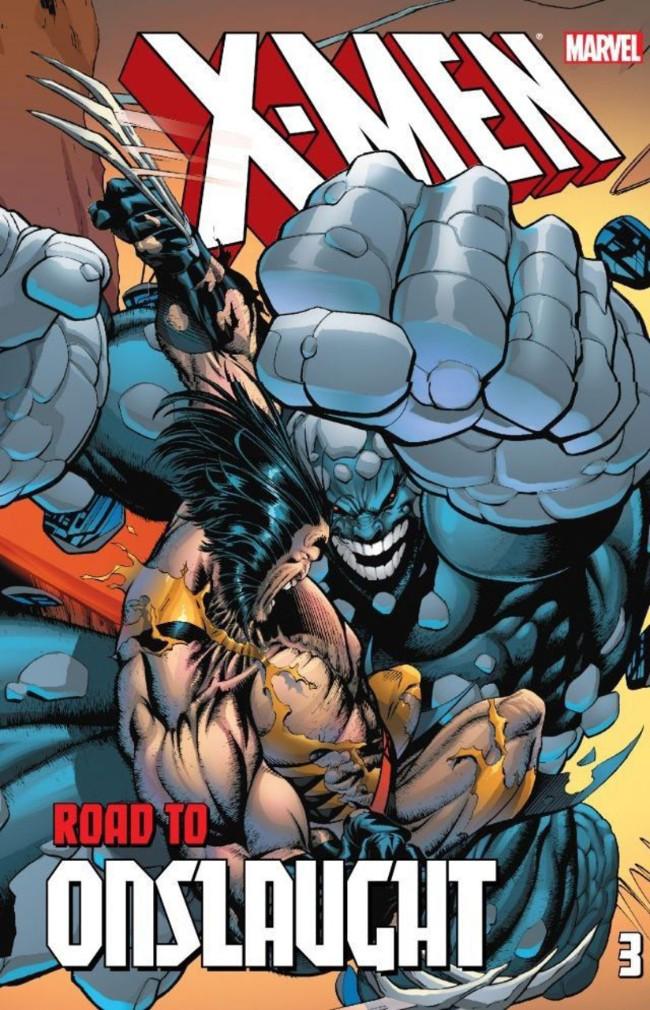 Couverture de X-Men (TPB) -INT- X-Men: The Road to Onslaught volume 3