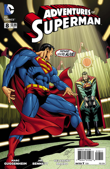Couverture de Adventures of Superman (2013) -8- Tears for Krypton