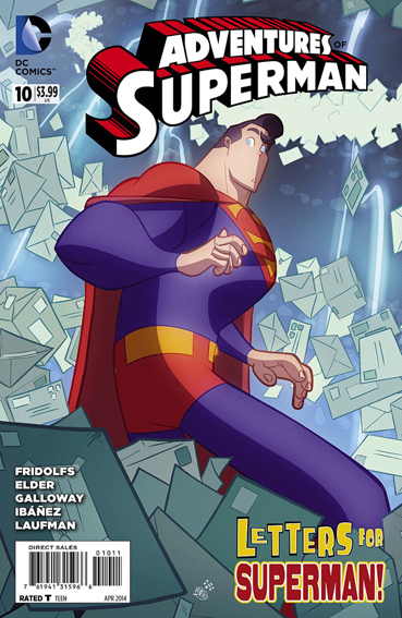 Couverture de Adventures of Superman (2013) -10- In care of / Dear Superman