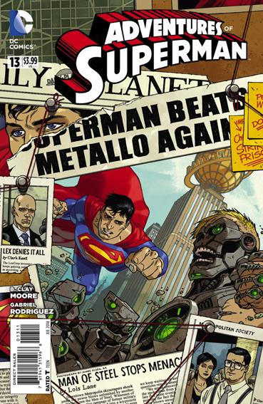 Couverture de Adventures of Superman (2013) -13- Exposed!