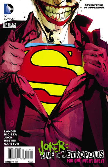 Couverture de Adventures of Superman (2013) -14- The sound of one hand clapping / The coming of...Sugar and Spike--?