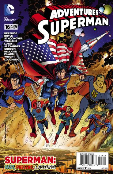 Couverture de Adventures of Superman (2013) -16- Strange visitor