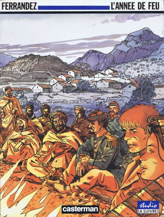 Couverture de Carnets d'Orient -2- L'année de feu