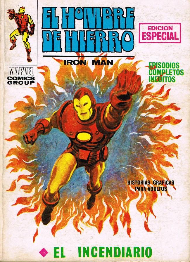 Couverture de Hombre de Hierro (El) (Iron Man) Vol. 1 -11- El incendiario